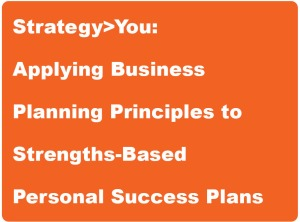 Title box - Strategy You life coaching workshop